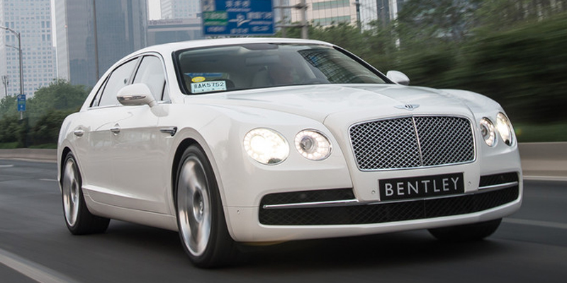 Bentley Flying Spur Chauffeur Driven Hire Luxcar